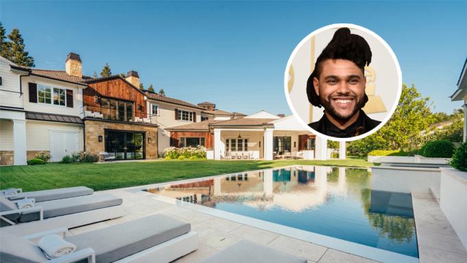 Cận cảnh căn biệt thự gần 22 triệu USD của nam ca sĩ The Weeknd
