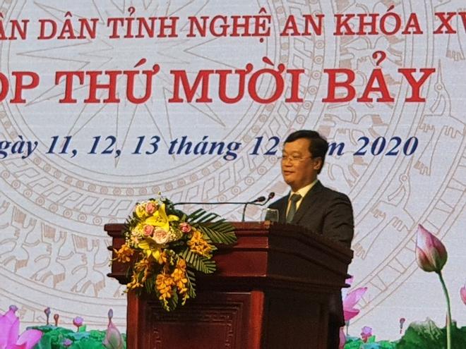 Đại biểu chất vấn Chủ tịch tỉnh Nghệ An về dự án đại lộ Vinh - Cửa Lò