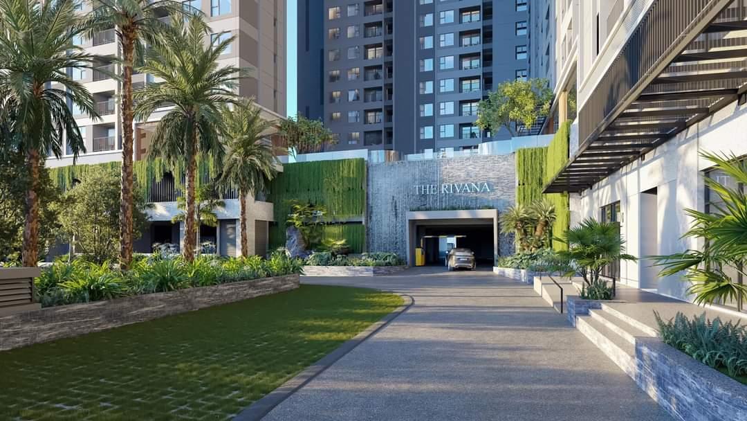 Khu vực sảnh đón khách của dự án The Rivana