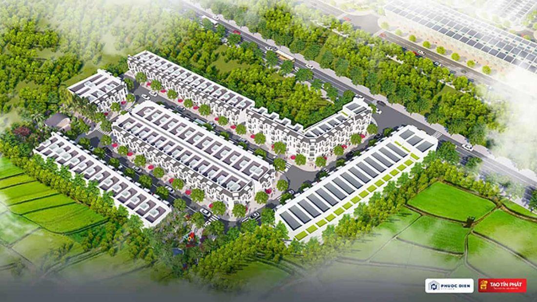 Nhà phố Phước Điền Citizen Bình Dương - Ảnh 1