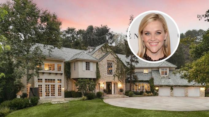 Reese Witherspoon mua nhà gần 16 triệu USD ở khu Brentwood cao cấp