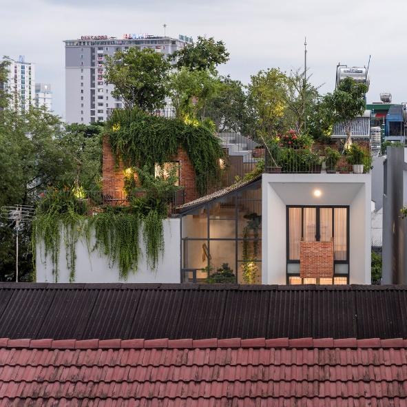 Những ngôi nhà ấn tượng với thiết kế vườn treo hút mắt