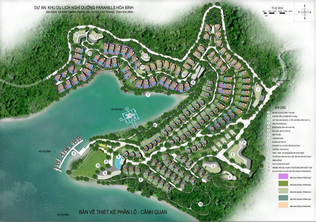 Khu du lịch nghỉ dưỡng Parahills Resort Hòa Bình 2