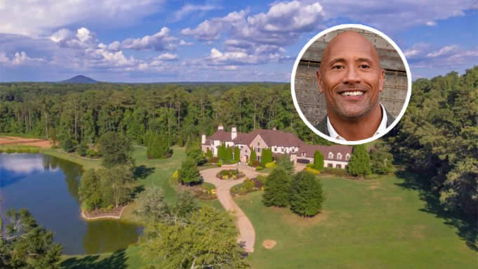 """Dwayne """"The Rock"""" Johnson rao bán trang trại 7,5 triệu USD ở Georgia"""
