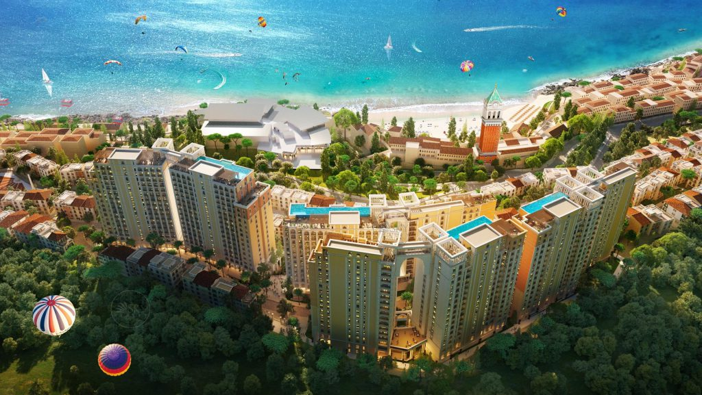 Quy mô dự án căn hộ Sun Grand City Hillside Residence Phú Quốc
