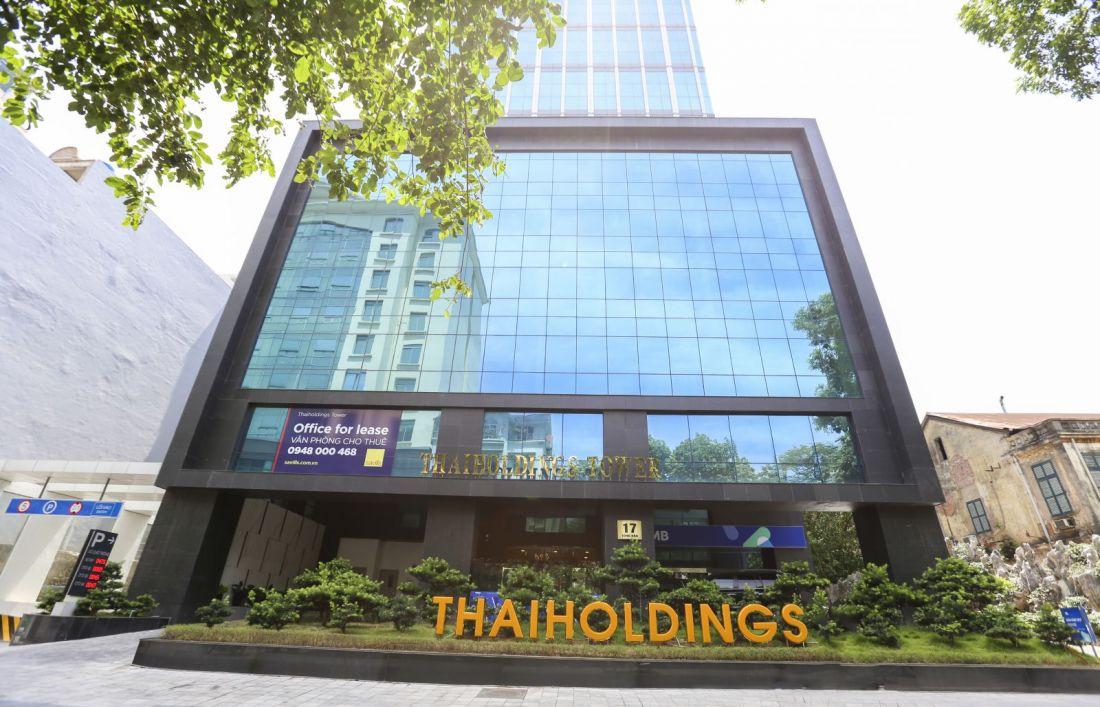 Công ty Thaiholdings là công ty con của Tập đoàn ThaiGroup, được thành lập từ năm 2011 với tên gọi là Công ty cổ phần đầu tư phát triển Kinh Thành. Đến năm 2016, công ty chính thức đổi tên và hoạt động với tên gọi Thaiholdings.