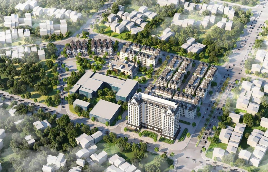 Tổ hợp căn hộ, nhà liền kề Helianthus Center Red River Hà Nội