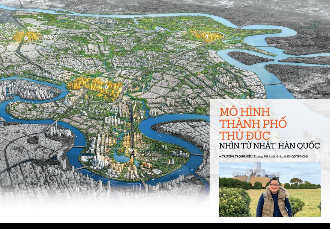 Mô hình thành phố Thủ Đức nhìn từ Nhật, Hàn Quốc