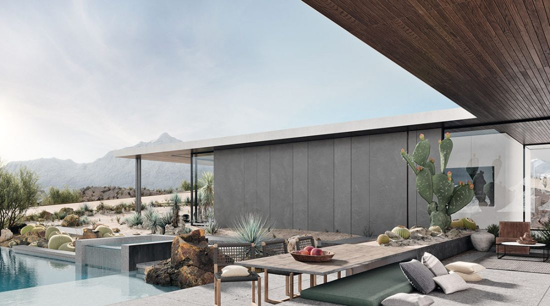 Những ngôi nhà có cấu trúc độc đáo trên sa mạc
