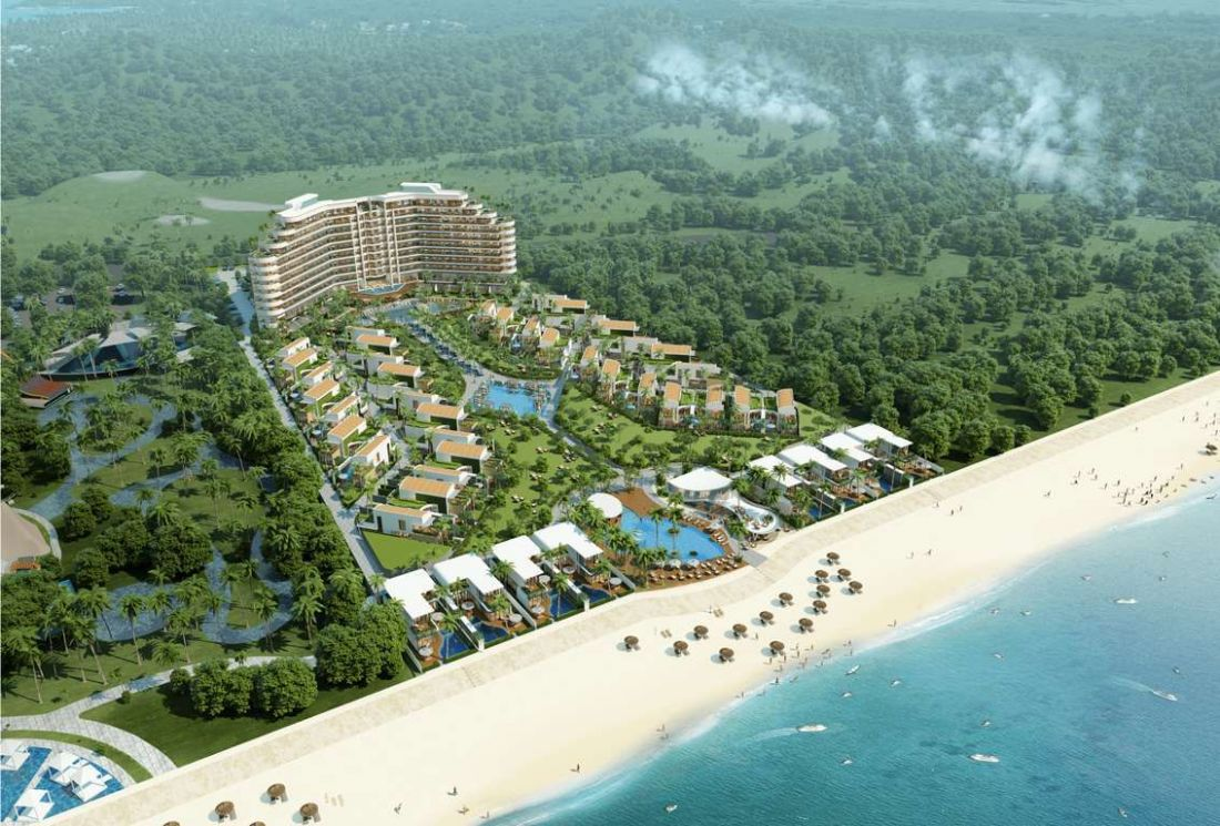 Khu du lịch nghỉ dưỡng Ixora Hồ Tràm Bà Rịa - Vũng Tàu 1