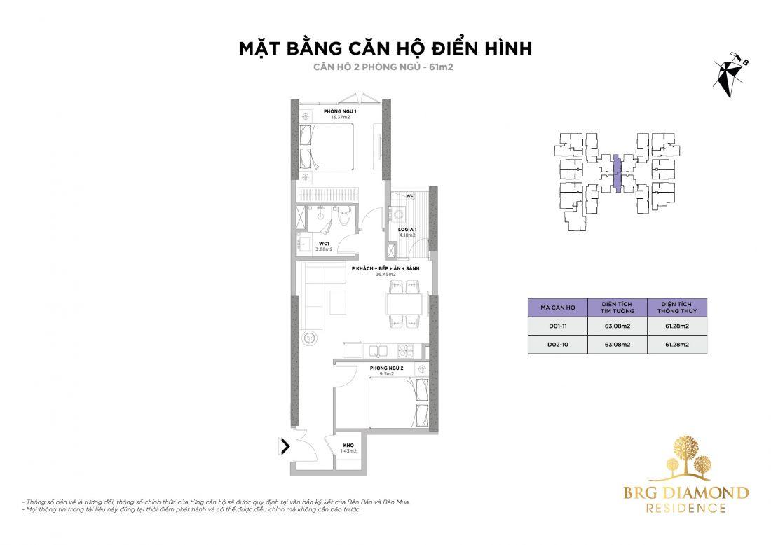 Căn hộ BRG Diamond Residence Hà Nội 4