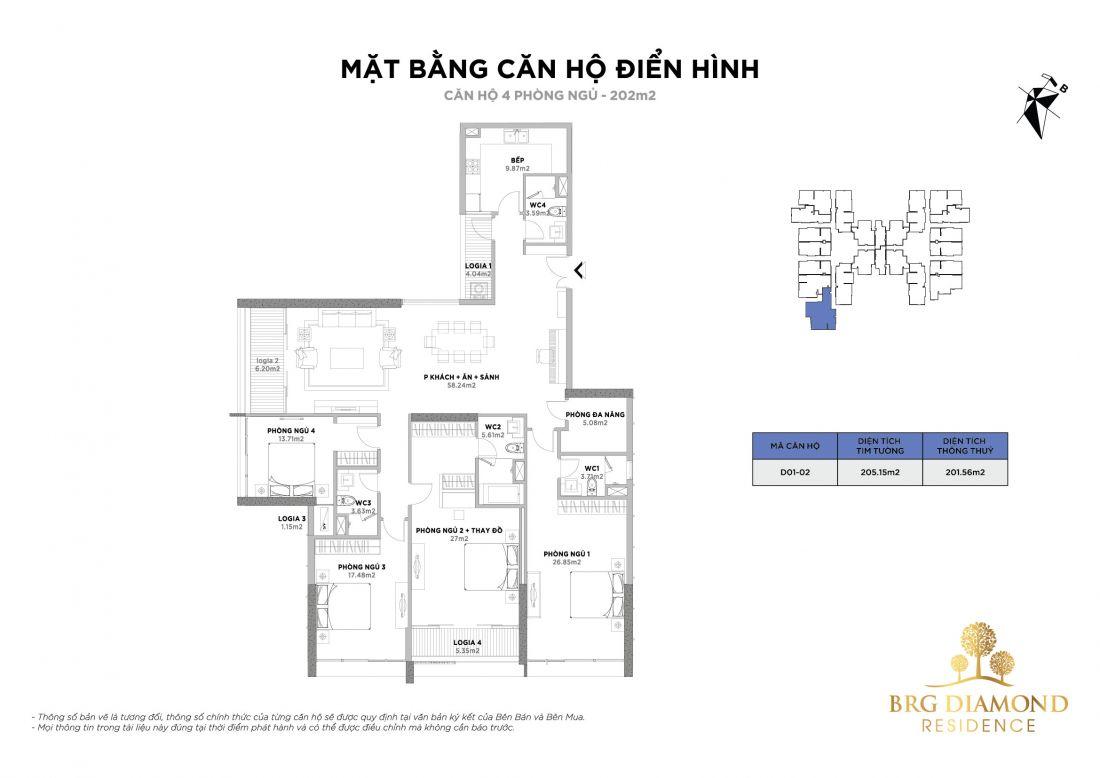 Căn hộ BRG Diamond Residence Hà Nội 5