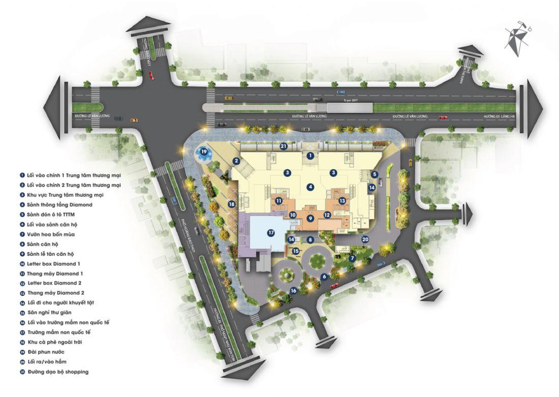 Căn hộ BRG Diamond Residence Hà Nội 6