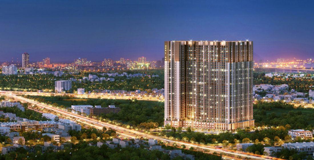 Đất Xanh khởi công hai tháp căn hộ 36 tầng ở Thuận An
