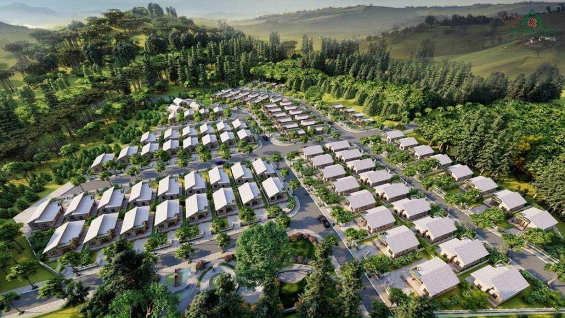 Khu nghỉ dưỡng sinh thái The Tropicana Garden Lâm Đồng 1