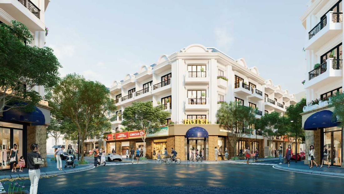Nhà phố Galaxy Boulevard Bà Rịa - Vũng Tàu