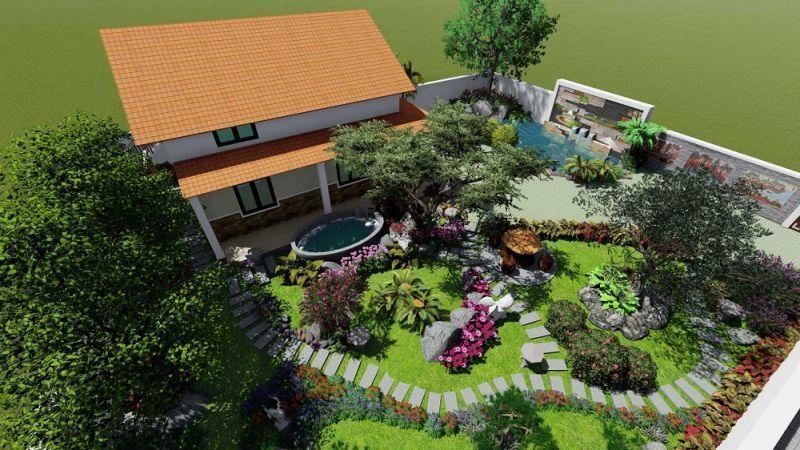 Nguyên tắc khi thiết kế sân vườn bạn nên biết
