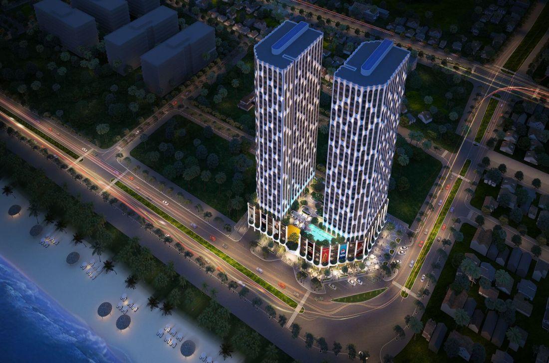 Căn hộ condotel Asiana Luxury Residences Đà Nẵng 2