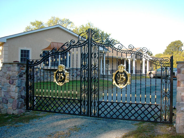 Mẫu cổng nhà đẹp ở nông thôn