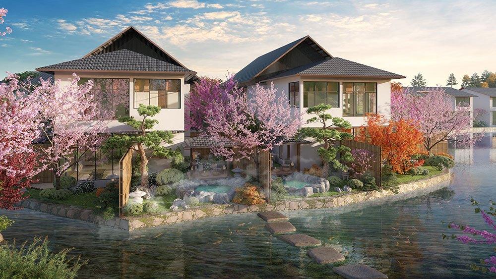 Tổ hợp biệt thự khoáng nóng Sun Onsen Village – Limited Edition Quảng Ninh