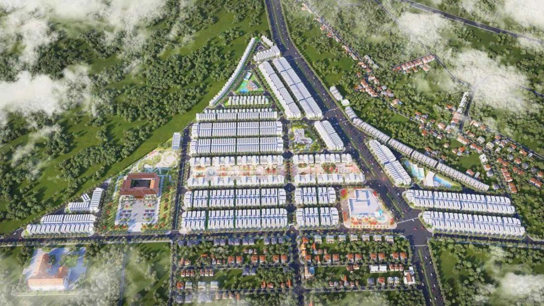 Đất nền Diamond City Bình Phước 1