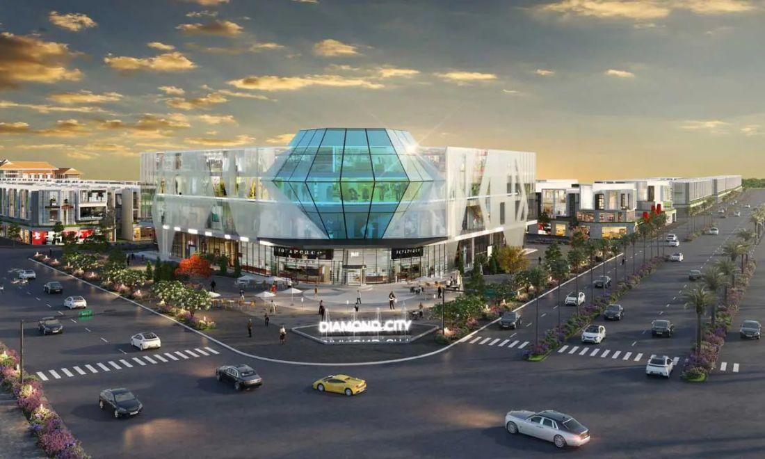 Đất nền Diamond City Bình Phước