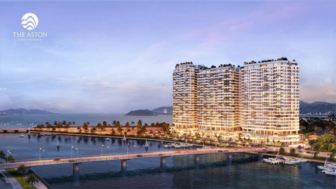 Quy mô dự án căn hộ The Aston Luxury Residence Nha Trang