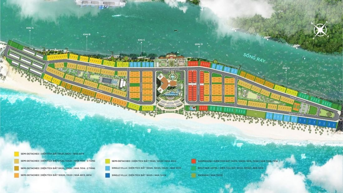 Khu biệt thự nghỉ dưỡng Habana Island – Novaworld Hồ Tràm 2