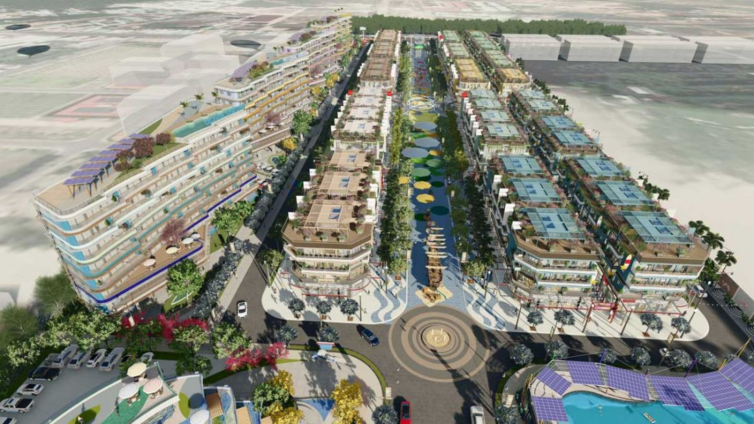 Khu nhà phố thương mại dự án Selavia Bay Phú Quốc