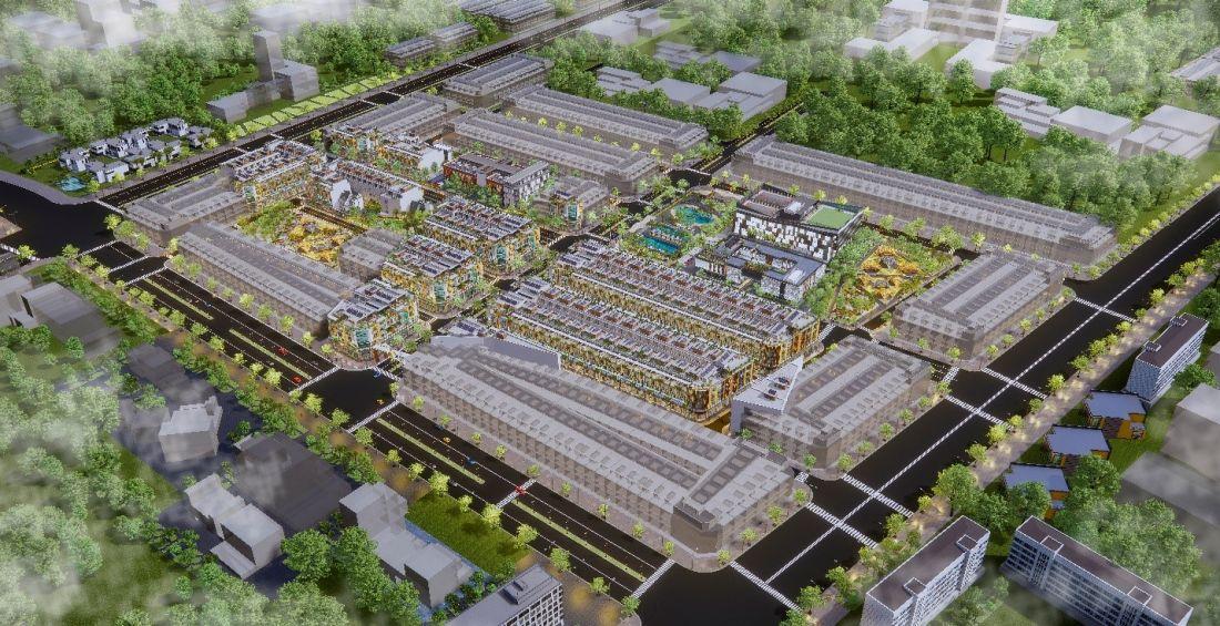 Khu dân cư đô thị Phường 3 Tây Ninh 1