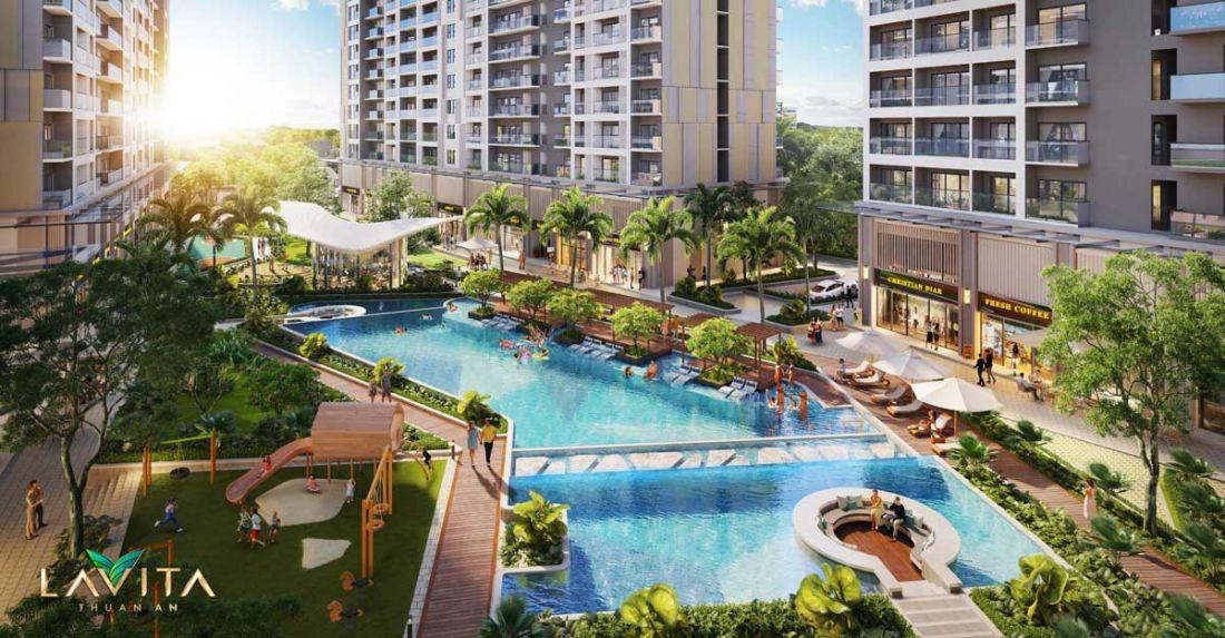 Tiện ích dự án căn hộLavita Thuận An Bình Dương