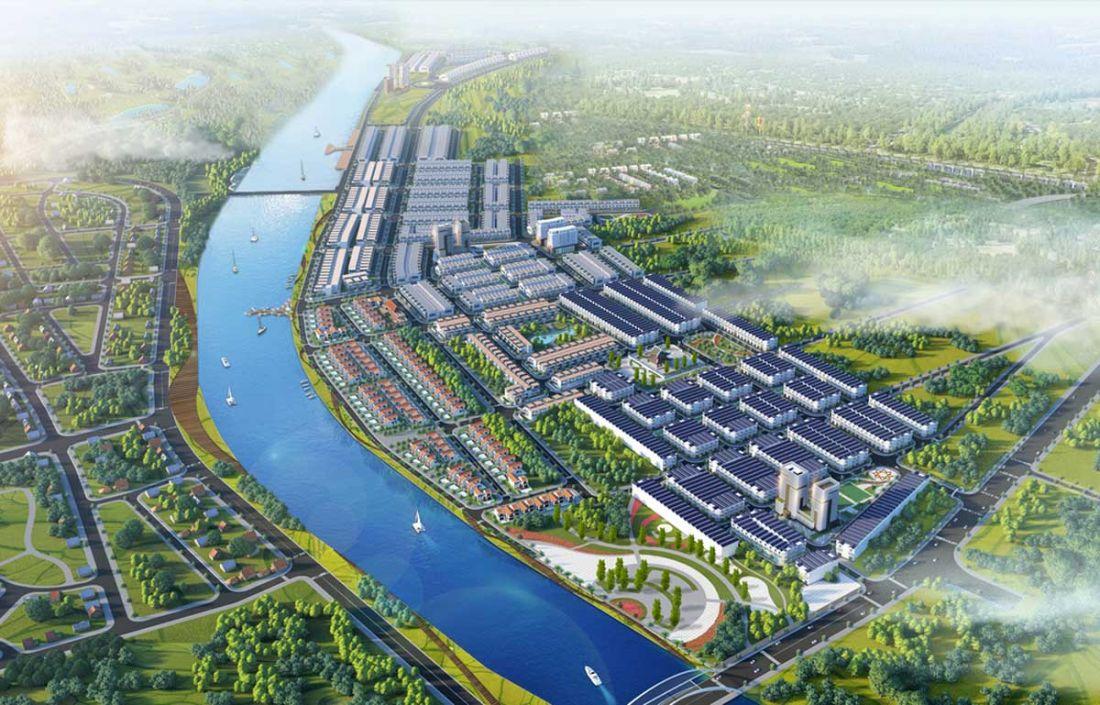 Quy mô dự án đất nền Rosa Riverside Complex Quảng Nam