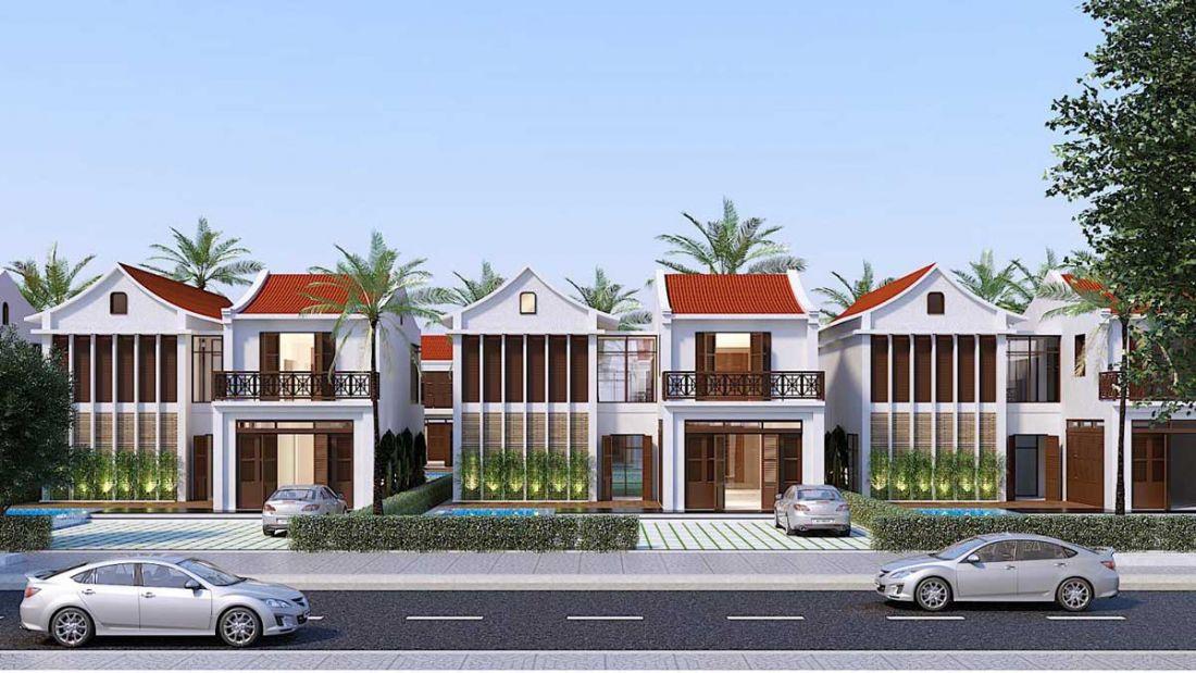 Phối cảnh biệt thự dự án Rosa Riverside Complex Quảng Nam