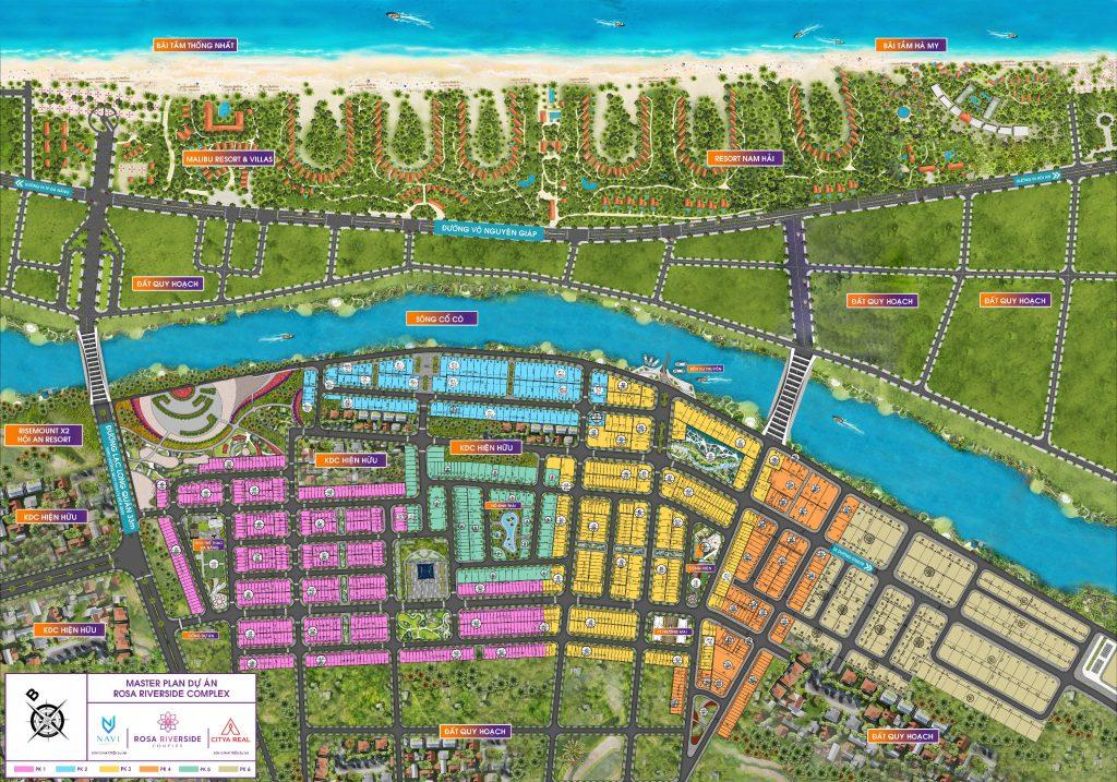 Dự án đất nền Rosa Riverside Complex Quảng Nam