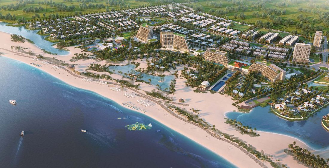 Khu du lịch sinh thái biển Venezia Beach Village Bình Thuận 2