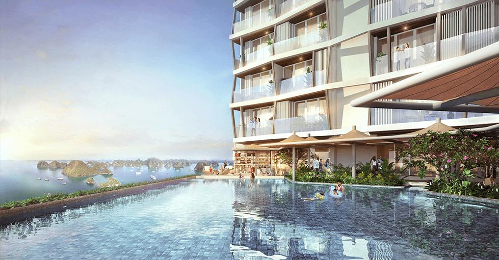Tổ hợp căn hộ condotel, khách sạn The Holiday Ha Long Quảng Ninh 6