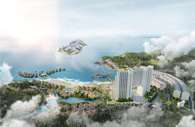 Khu du lịch nghỉ dưỡng Crystal Holidays Marina Phú Yên 1