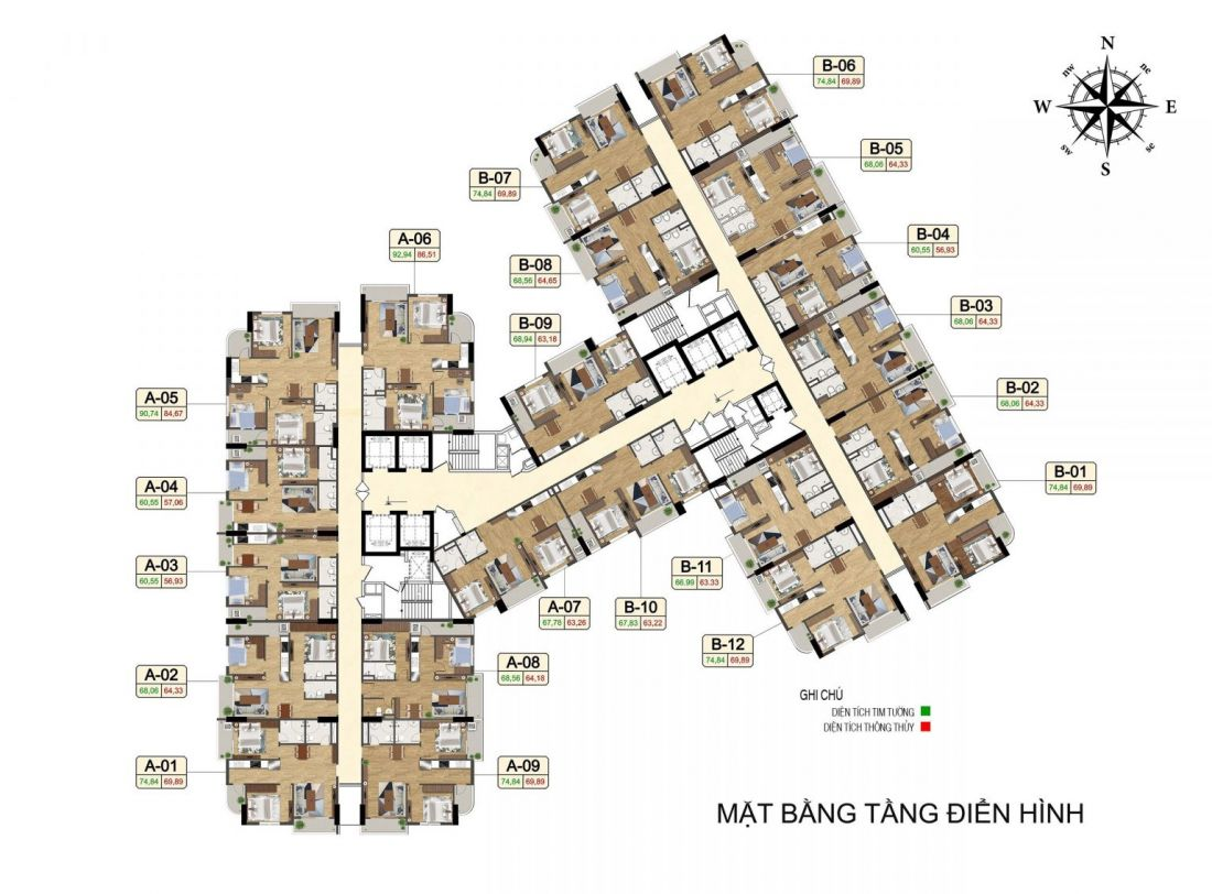 Căn hộ Tecco Center Point Thanh Hóa 3