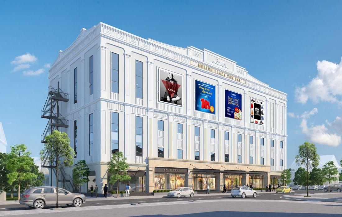 Tổ hợp nhà phố thương mại Melinh Plaza Yên Bái 4
