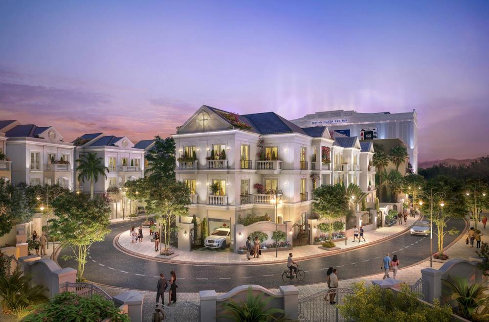 Tổ hợp nhà phố thương mại Melinh Plaza Yên Bái 5