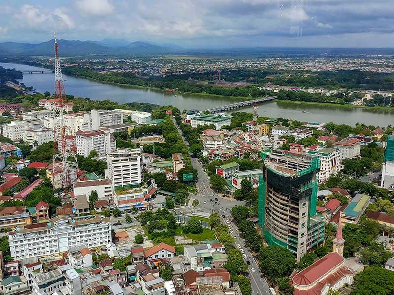 Mở rộng thành phố Huế, thị trường nhà đất xôn xao