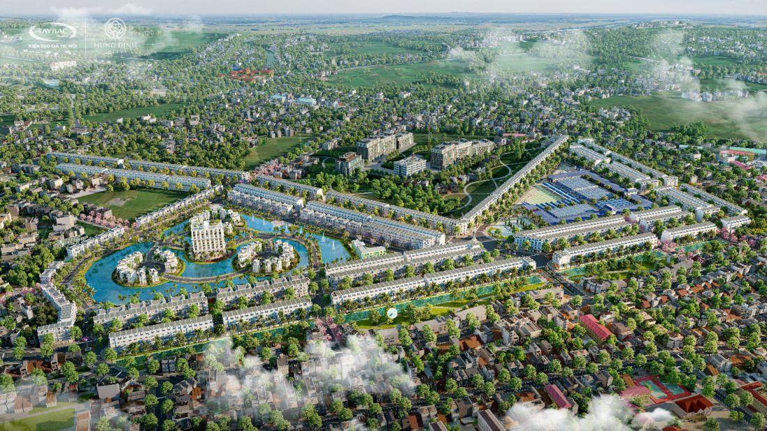 Khu đô thị Hưng Định City Bình Định 1