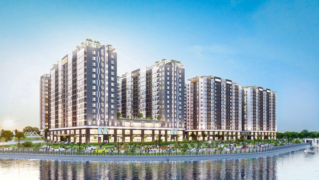 Nhà ở xã hội Golden City Tây Ninh 1