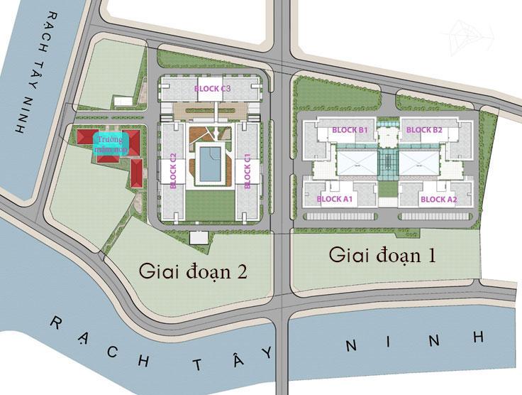 Nhà ở xã hội Golden City Tây Ninh 2