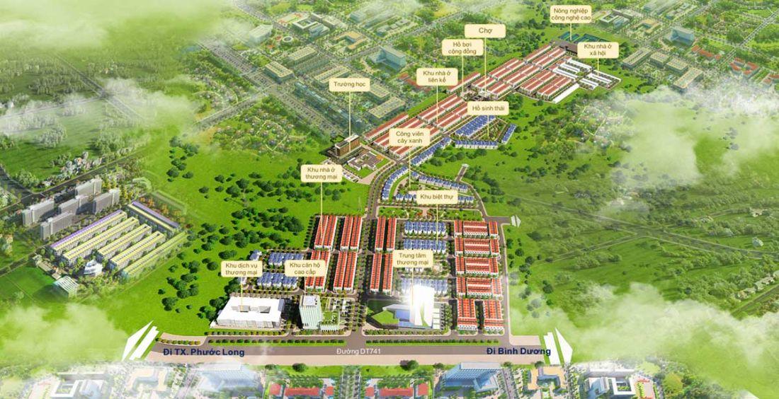Dự án đất nềnFelicia City Bình Phước