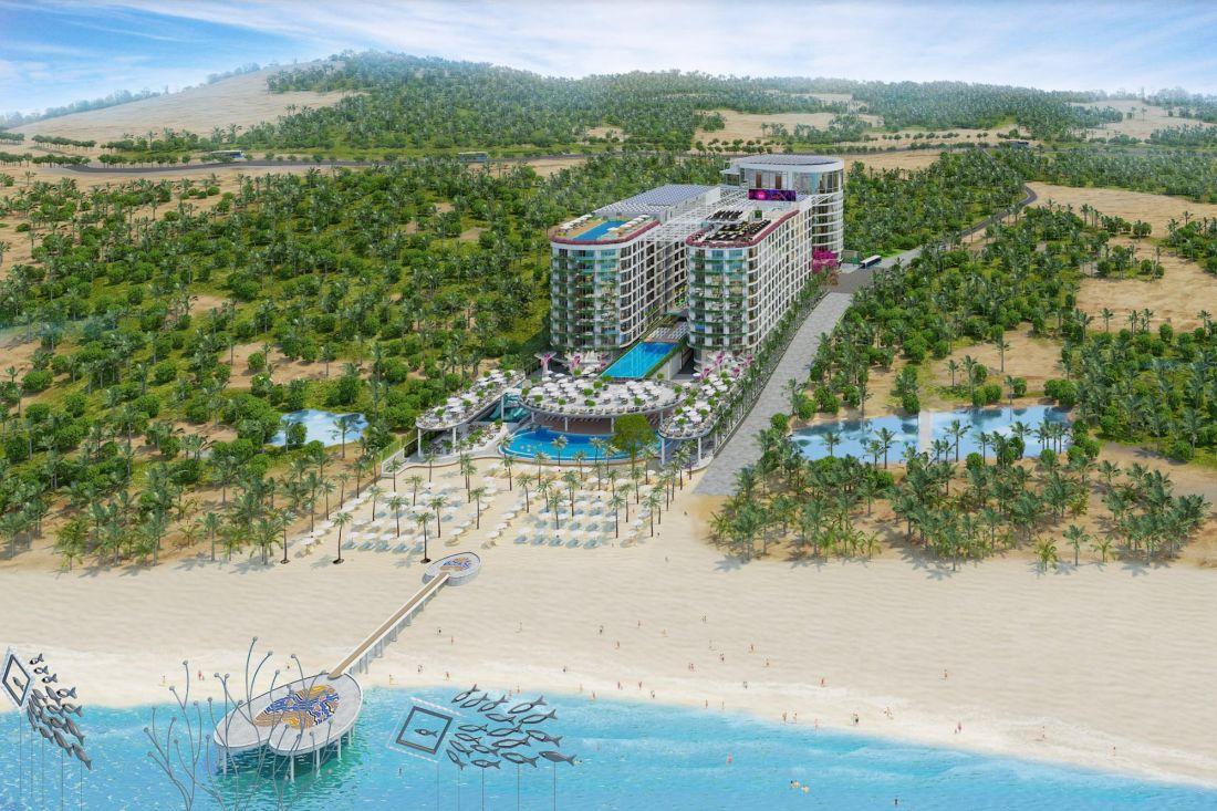 Khu căn hộ khách sạn Best Western Plus Long Beach Resort Phú Quốc 1