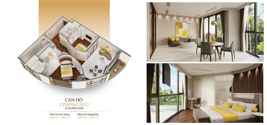 Khu căn hộ khách sạn Best Western Plus Long Beach Resort Phú Quốc 3