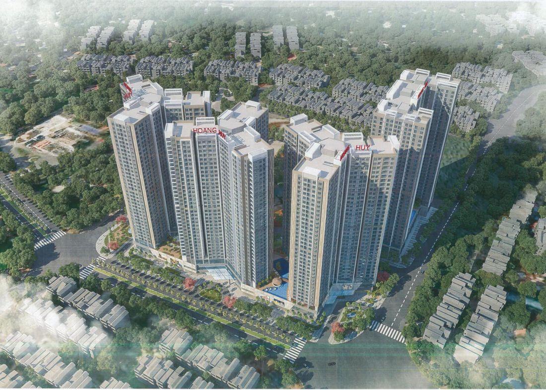 Khu căn hộ Hoàng Huy Commerce Hải Phòng 1