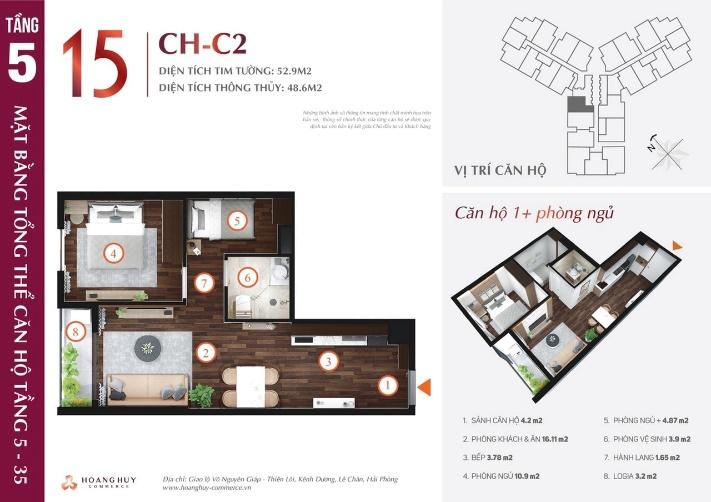 Khu căn hộ Hoàng Huy Commerce Hải Phòng 4
