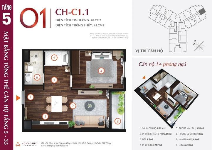 Khu căn hộ Hoàng Huy Commerce Hải Phòng 5